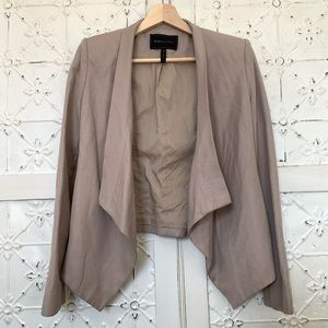 BCBGmaxazria Abree relaxed jacket blazer tan XS